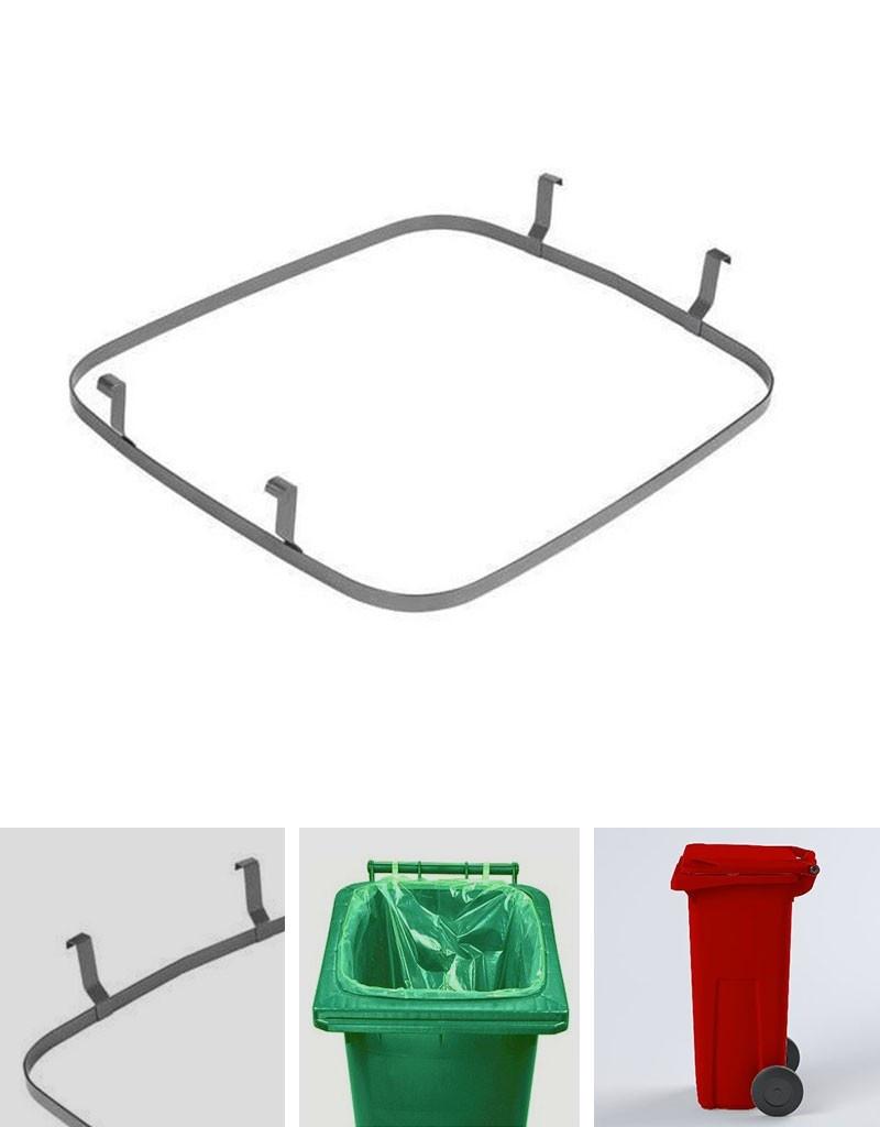Rámeček k uchycení plastového pytle v popelnici 120 l