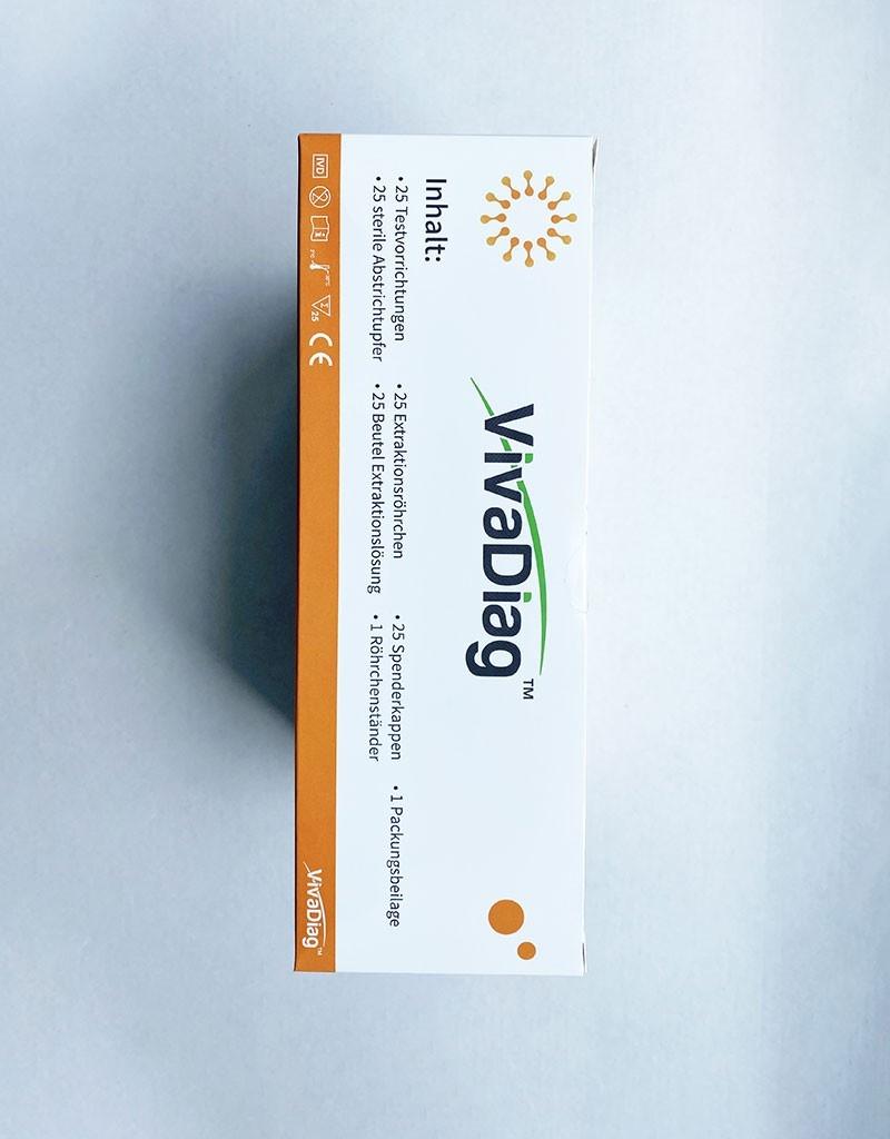 Antigenní test tyčinkový, VivaDiag SARS-CoV-2 Ag Rapid Test