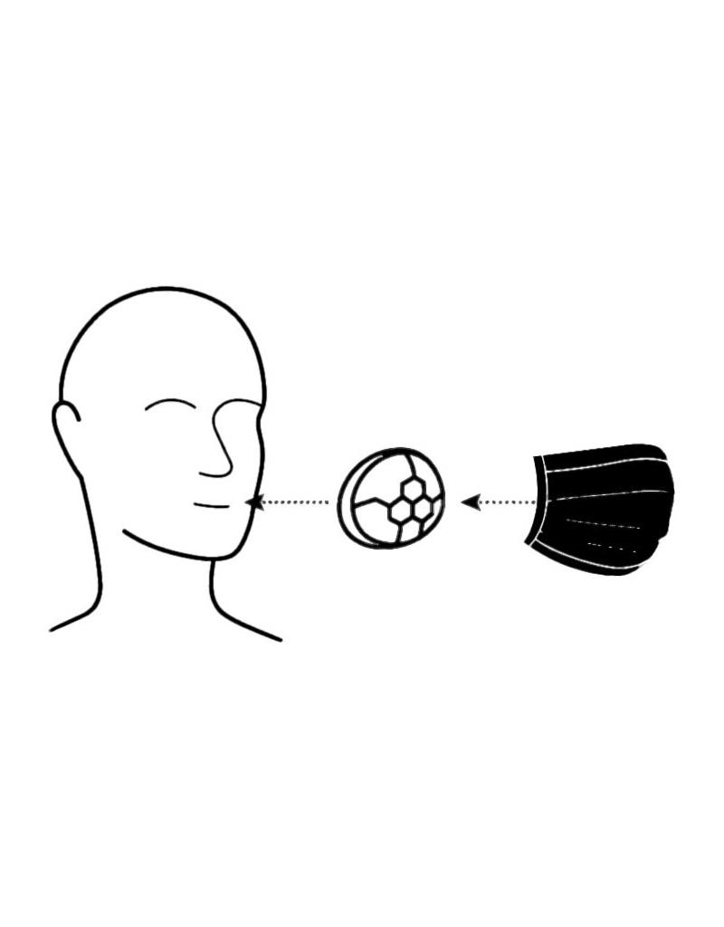 Černé ústenky (30 ks) + 3 držáky ústenky + úložný box